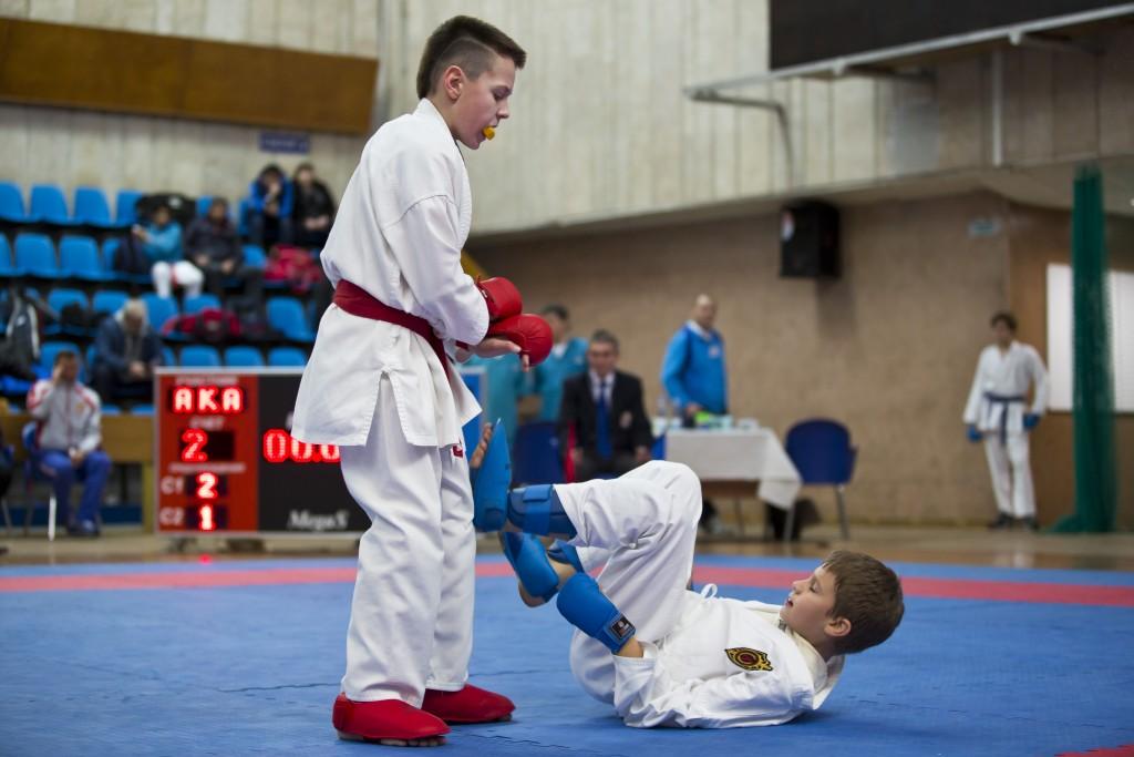 детский чемпионат по каратэ